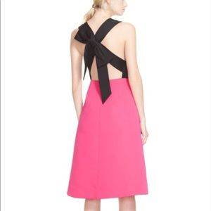 Kate Spade Color-block Bow Back Dress 14